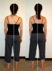 姿勢の変化/ロルフィング効果